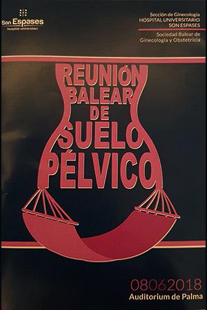 Especialistas en suelo pélvico en Mallorca – Reunión Balear de Suelo Pélvico 2018