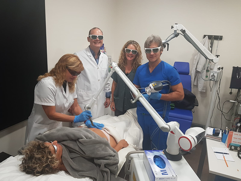 remodelado corporal con laser Mallorca