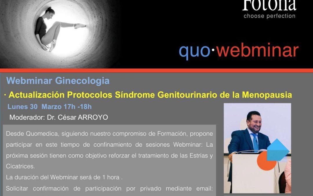 Formación en plataforma on-line QUO-WEBINAR