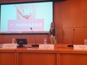 ponente en las jornadas de Ginecología Estética y Funcional